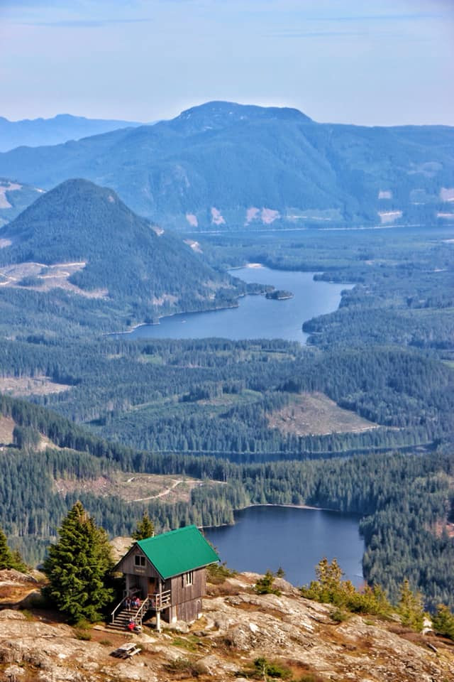 Tin Hat Mountain is the best hike along the Sunshine Coast Trail in BC