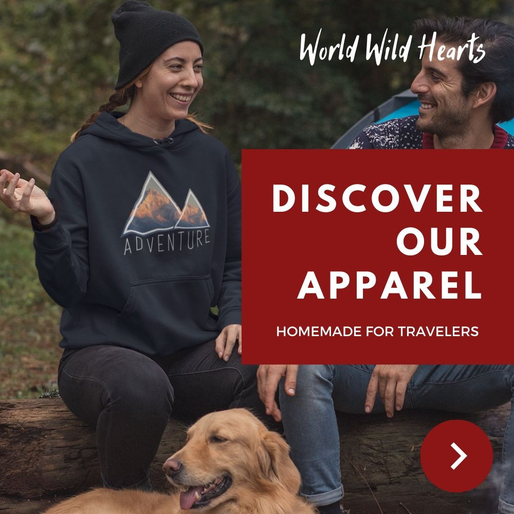 Inspirational travel apparel