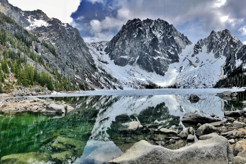 Breathtaking Colchuck Lake (part of the Enchantments)