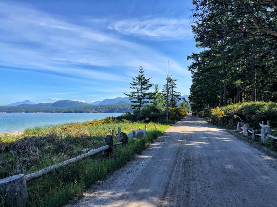 Savary Island - a top thing to do in powell river and along the sunshine coats in bc
