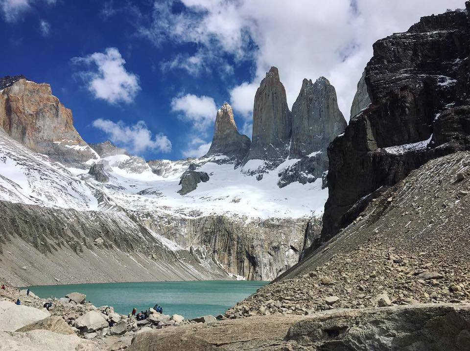 The Base de las Torres is a must-see place in Patagonia