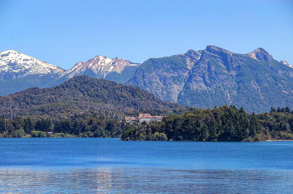 view of the llao llao peninsula a must-see place in patagonia