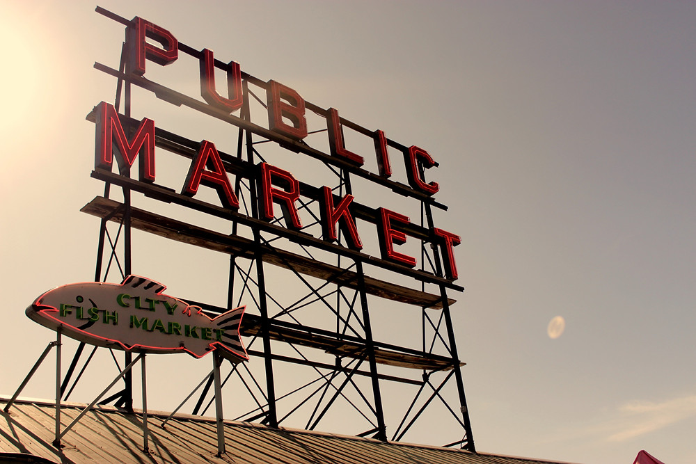 The popular Pike Place Market is an absolute top attraction in Seattle