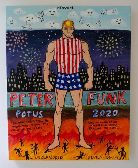 PETER FUNK POTUS 2020