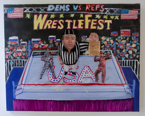 Dems vs Reps WrestleFest