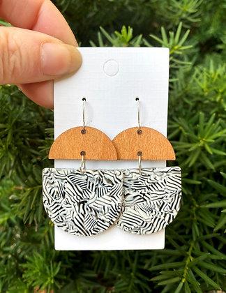 Safari Deco Drop Earrings