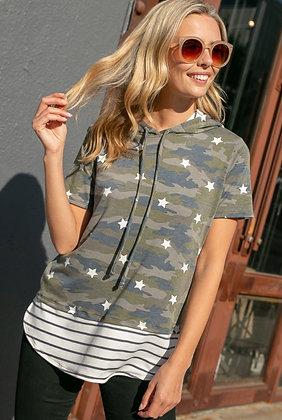 Camo Stars & Stripes Hoodie