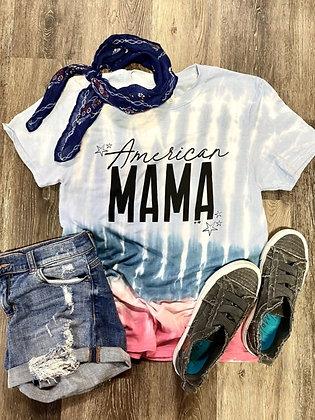American Mama Tie Dye Tee