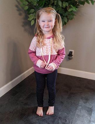 Toddler Pink Camo Hoodie