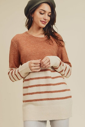 Rust Stripe Tunic