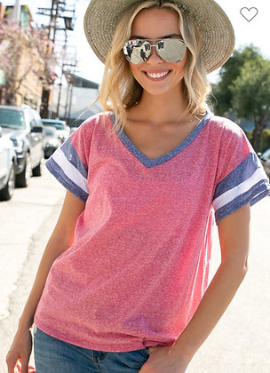 Red, White & Blue Tee