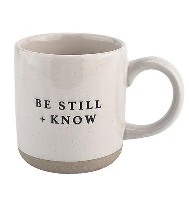 Be Still + Know Mug