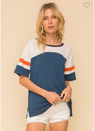 Color Block Tailgate Tee
