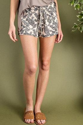 Paisley Lounge Shorts