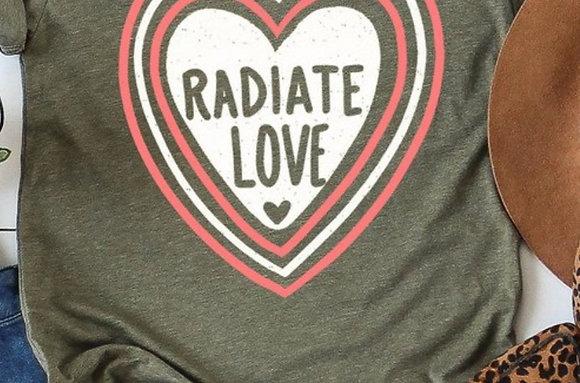 Radiate Love Tee