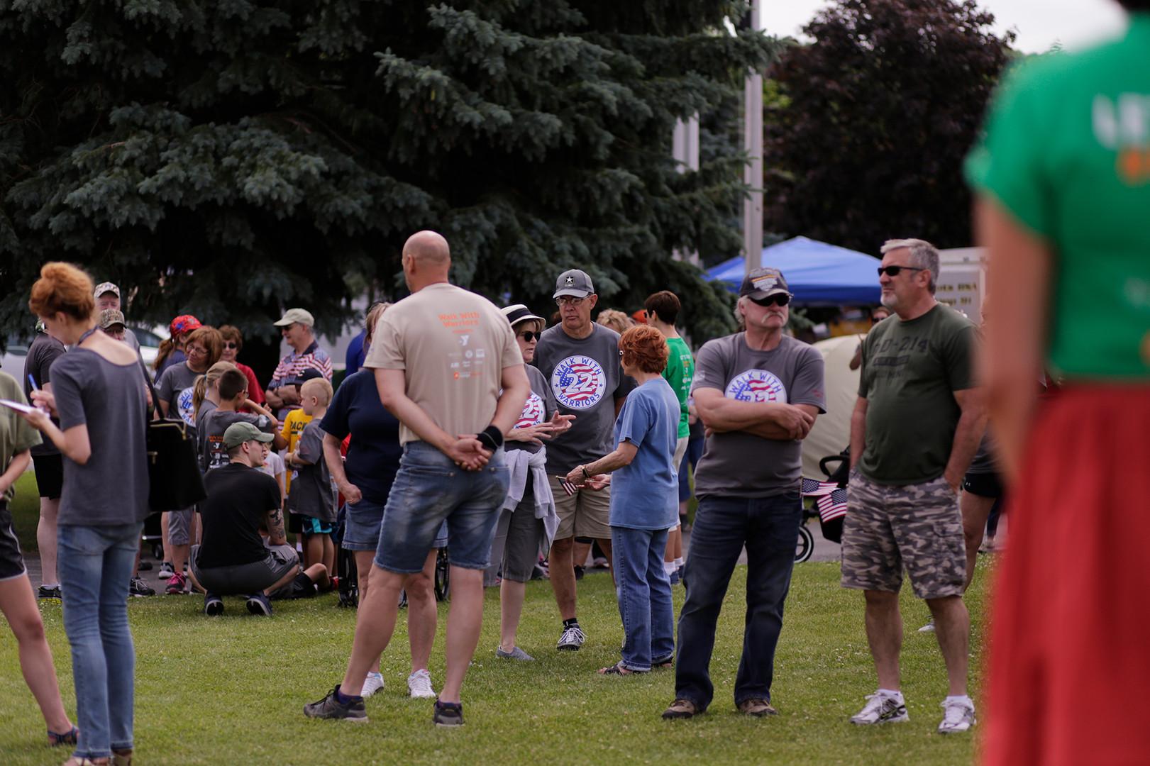 People Enjoying Community Days