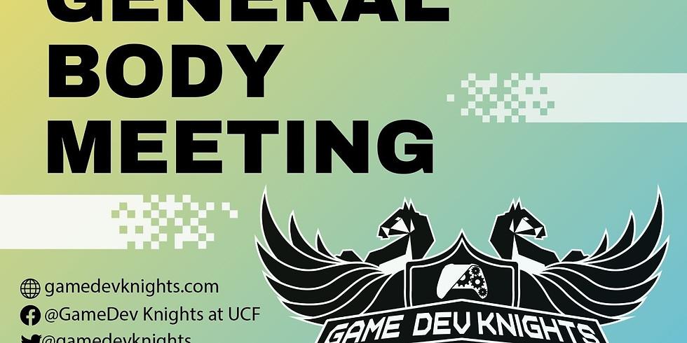 GDK General Body Meeting