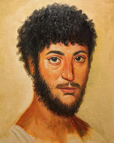 Master copy figurative art oil painting portrait