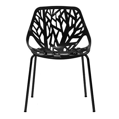 zwarte design stoel boom