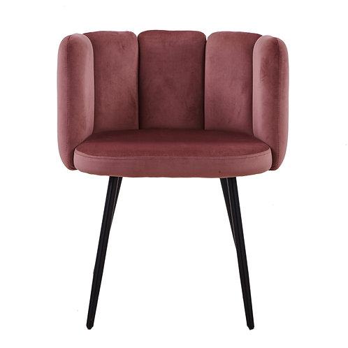 High Five chair pink (Velvet)