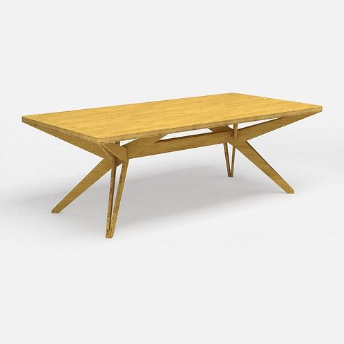 Kruis Table - Bamboe
