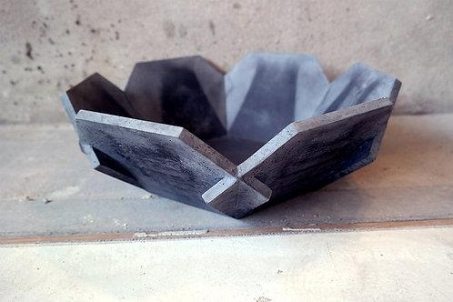 betonnen schaal antraciet
