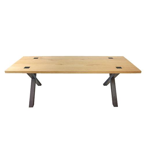 Abello Table - Eikenhout - Kruispoot