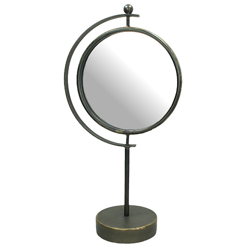 Spiegel op Standaard Metaal