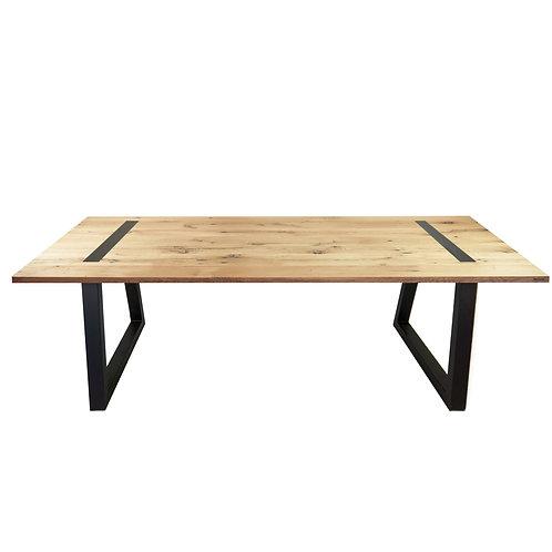 Abello Table - Wagonhout - Trapeziumpoot