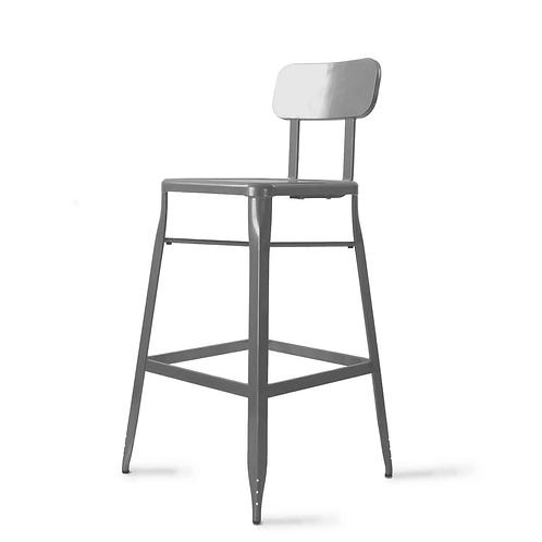 Sterling - Metaal - Zwart & Zilver - 108 cm