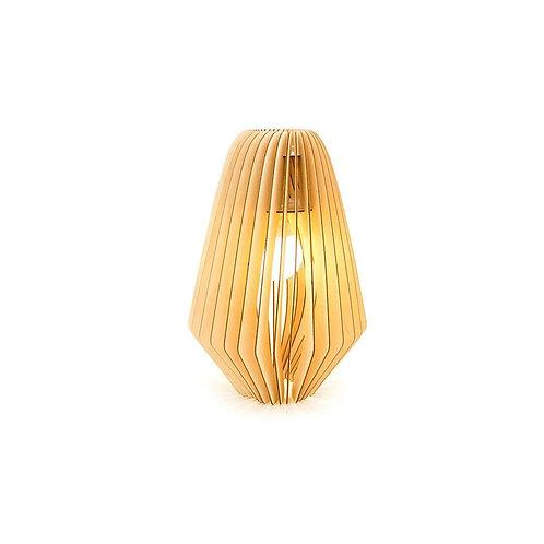 houten lamellen lamp