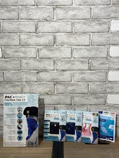 Tour de cou Pac avec 3 filtres 29.90  (adultes et junior, disponible en plusieurs couleurs)  10x recharges 10.-