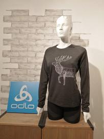 T-shirt manches longues en laine Odlo 110.-