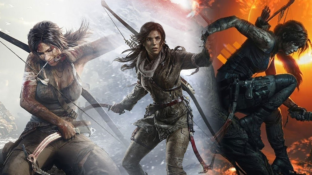 Tomb Raider netflix anime series