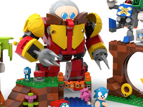 Sonic Mania-Themed Set in Making by Lego: Inspired from a Fan's Creation