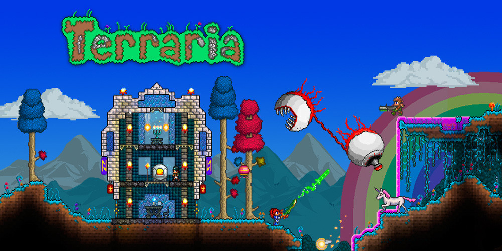 Terraria is not coming to stadia game wallpaper