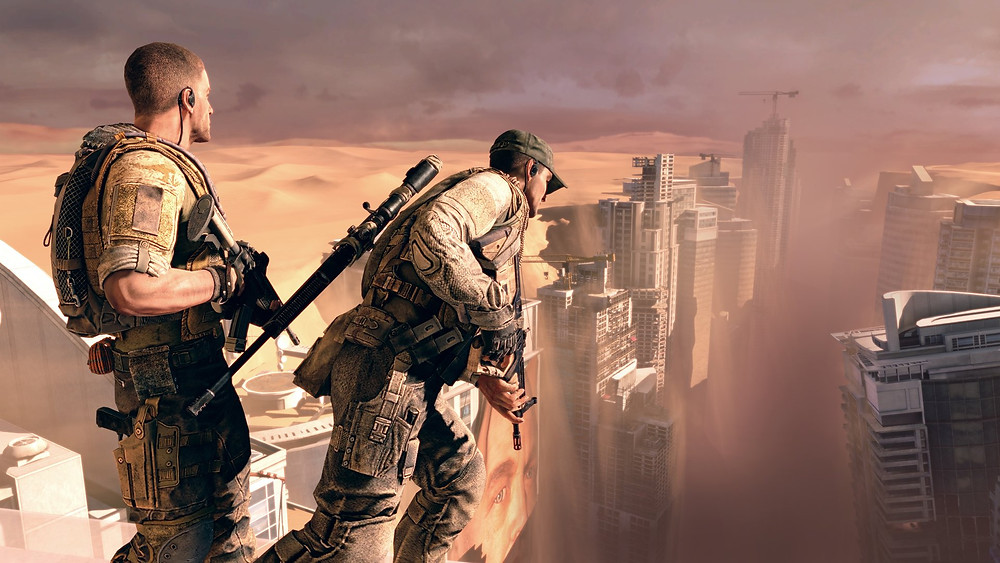 Spec ops the line game wallpaper