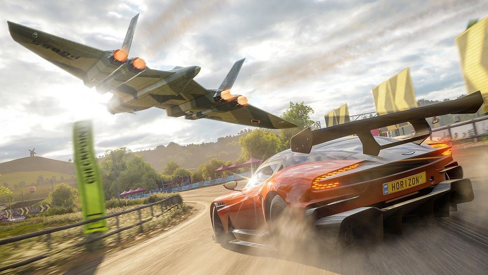 forza horizon 4 coming to steam soon game wallpaper