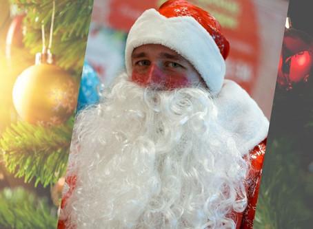 28 декабря ТЦ «Сибирский городок» в Новокузнецке пригласил в гости Дед Мороза и Снегурочку!