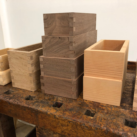 Finger Joint Boxes