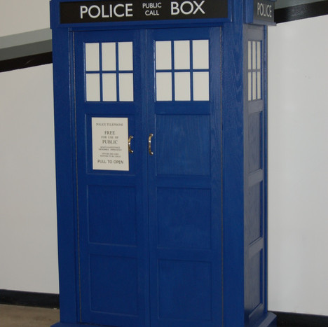 TARDIS Wardrobe
