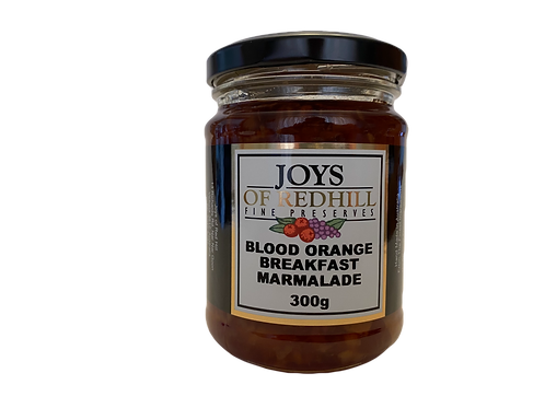 BLOOD ORANGE BREAKFAST MARMALADE    300g