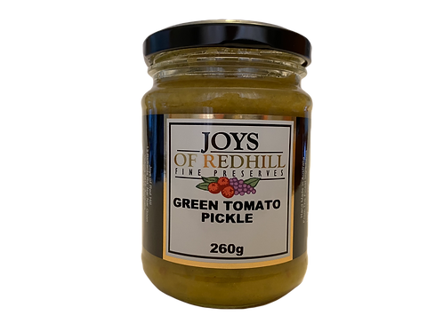 GREEN TOMATO PICKLE    260g