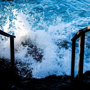 vento no litoral