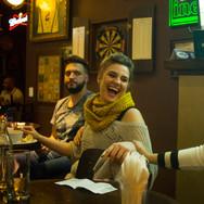 Aniversário no bar