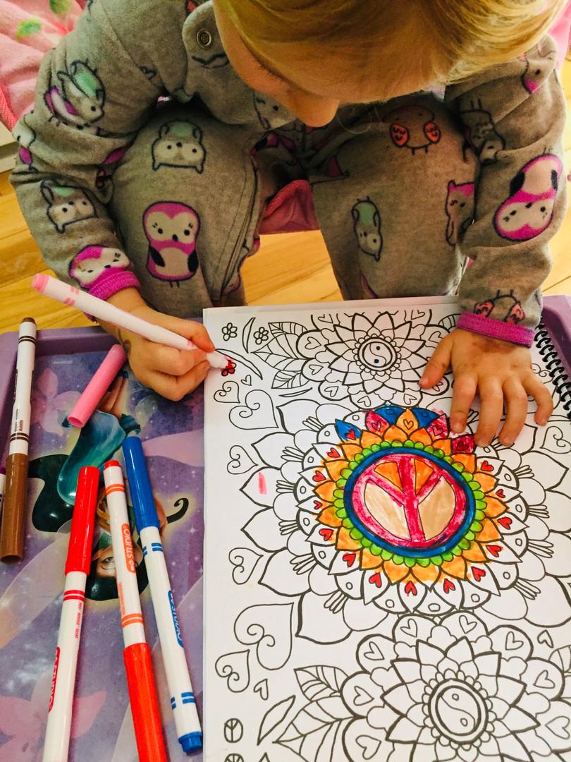 Mandalas zen pour enfants