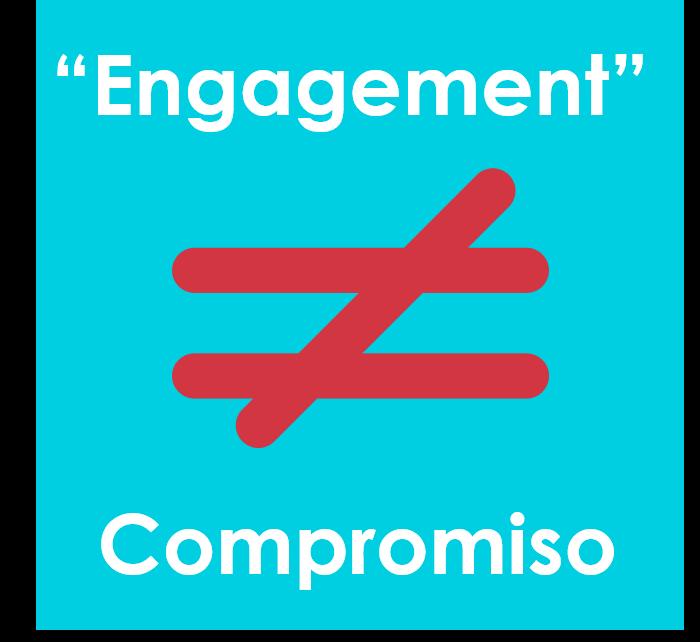 engagement no es compromiso