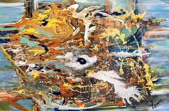La Mer Troublée par I'Oeil de la Tempête