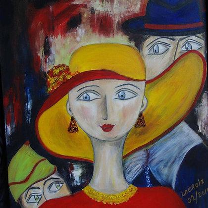 La Femme à Chapeau