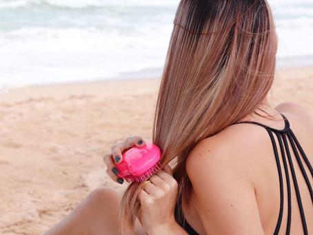 Melhor escova de cabelo da vida!! - Tangle Teezer